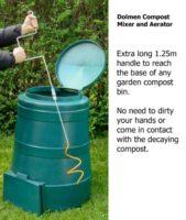Spiral Compost Mixer Compost mixing tool